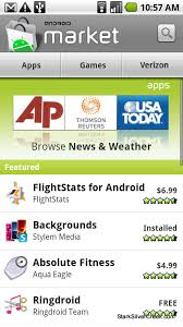android market app the android market