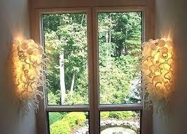 Art Glass Sconces Sconce Art Glass Sconces Art Glass Wall Sconce Lighting Art