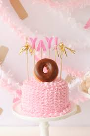 the 25 best donut birthday cakes ideas on pinterest donut cakes