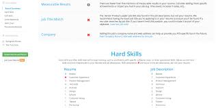 what does a cover page for a resume look like jobscan tutorial jobscan live scoring feature
