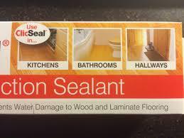 Clic Laminate Flooring Unika Clic Seal Laminate Wood Floor Joint Sealer Waterproofing