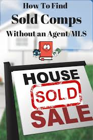 how to find sold comps without an agent or mls cash flow diaries