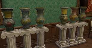 Chinese Vases History Antique Chinese Vases From Ts3 By Thejim07 At Mod The Sims Sims