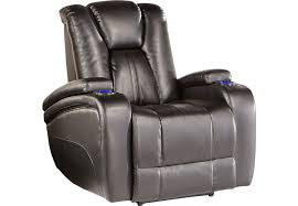 kingvale black power recliner recliners black