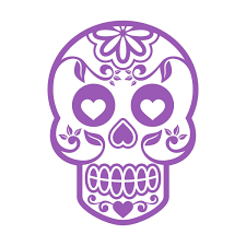 sugar skull cuttable design