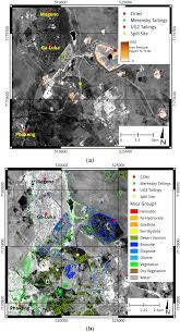 remote sensing free full text spaceborne mine waste mineralogy