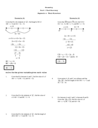 Segment Addition Postulate Worksheet Angle Addition Postulate Worksheet Geometry Common Style
