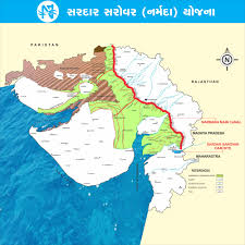 Gujarat India Map by Why Are 32 Drought Hit Villages In Gujarat Not Getting The Narmada