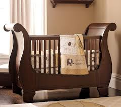 Convertible Sleigh Bed Crib Larkin Fixed Gate Sleigh Crib For Ellie Pinterest Baby