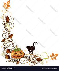 halloween border royalty free vector image vectorstock