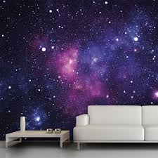 Galaxy wall mural 13 x9 $54 trying to think of cool wall decor