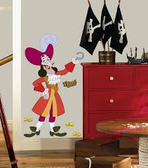 amazon com roommates rmk1958gm disney jake and the neverland amazon com roommates rmk1958gm disney jake and the neverland pirates captain hook peel and stick giant wall decal home improvement