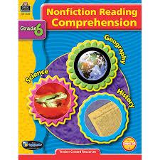 nonfiction reading comprehension grade 6 tcr3386 teacher
