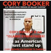 Cory Booker Meme - cory booker is a black male version of hillary clinton cory booker