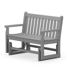 polywood outdoor glider bench outdoor rockers u0026 gliders