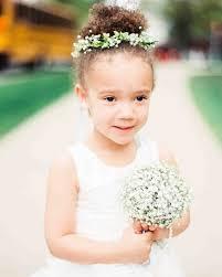 flowergirl hair hair accessories your flower girl will martha stewart weddings