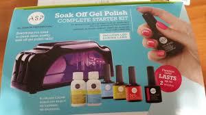 amazon com soak off gel polish complete starter kit beauty