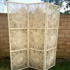 Wicker Room Divider Price Cut Vintage Wicker Screen Or Room Divider Divider