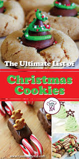 the ultimate list of christmas cookies recipes