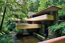frank lloyd wright style home plans chuck kuhns usa in frank lloyd wright falling water house home