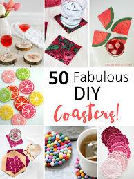 50 crafty diy cup coaster ideas u2022 cool crafts