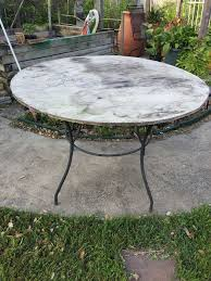 Patio Table Furniture Upcycled Patio Table With Tiles Hometalk