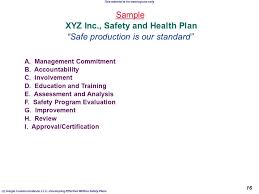 safety plan template effective safety plans c geigle