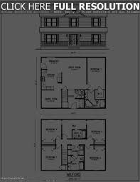2 Story 4 Bedroom Floor Plans by 4 Bedroom 2 Story House Floor Plans Luxihome