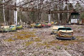 abandoned amusement park abandoned amusement park in pripyat ghost town chernobyl nuclear