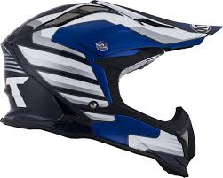 blue motocross helmet kyt strike eagle wings motocross helmet white black blue