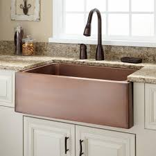 25 Inch Kitchen Sink Kitchen Copper Kitchen Sink Unique Pros And Cons Of Copper