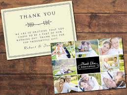 where to buy thank you cards print templates wedding thank you cards collage thank you card