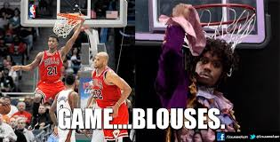 Game Blouses Meme - brandon bass dunks on brook lopez nba