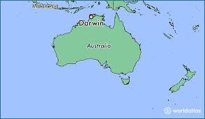 where s where is darwin australia darwin northern territory map