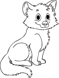 baby wolf coloring pages coloring