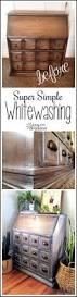 Ideas For Whitewash Furniture Design Whitewashing Furniture Super Simple Tutorial Reality Daydream