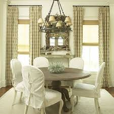 Dining Room Chair Seat Covers Patterns Dining Room Slipcovers Provisionsdining Com