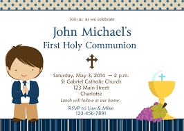holy communion invitations holy communion invitation boys communion