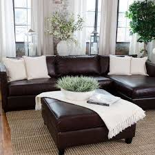Living Rooms With Dark Brown Leather Furniture Living Room Ideas With Leather Furniture Elegant Living Room