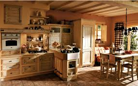 kitchen decorating rustic country kitchen cabinets modern