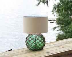 glass fishing float pendant light vintage glass fishing float cluster pendant light
