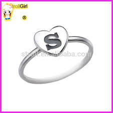 ebay rings silver images Cheap alphabet initial heart letter ring from ebay website 925 jpg