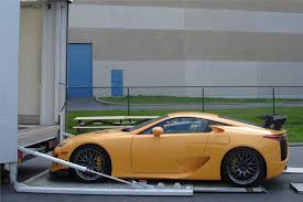 lexus sports car uk lexus lfa nürburgring arrives in uk motoring news honest john