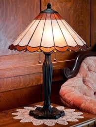 Tiffany Table Lamp Shades Asian Robert Louis Tiffany Cherry Blossom Art Glass Table Lamp