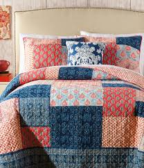 Quilted Cotton Coverlet Quilts U0026 Coverlets Dillards