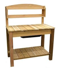 Merry Garden Potting Bench by Amazon Com Phat Tommy Patio U0026 Garden Cedar Planter U0026 Potting