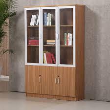 Office Bookcases With Doors Excellent Quality Office Book Self Furniture Wooden Office