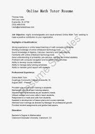 math tutor resume sample volunteer tutor resume example first