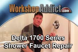 How To Repair Delta Monitor Shower Faucet Repair A Leaking Delta 1700 Shower Faucet