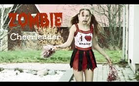 zombie cheerleader makeup tutorial youtube